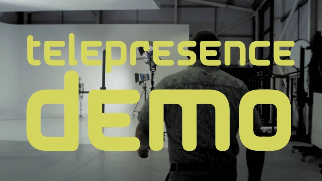 Telepresence Robot Demo - Engineered Arts
