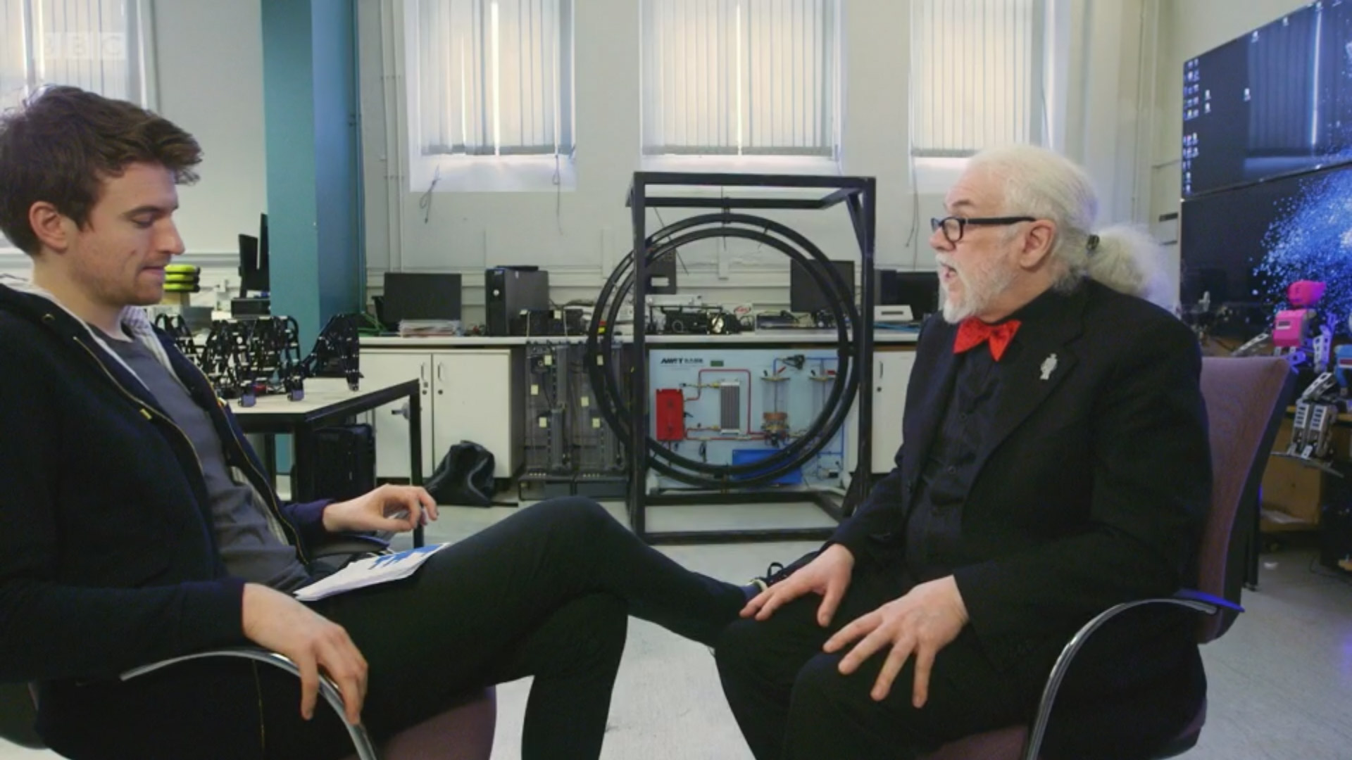 Greg James & Noel Sharkey Discuss creating a Robot Ed Sheeran