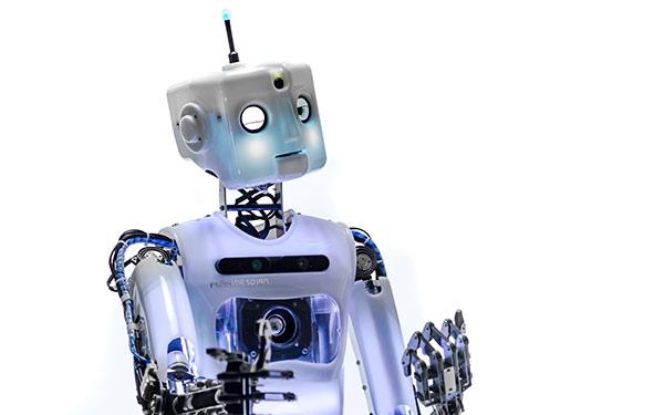 Full Size Humanoid Robot Custom RoboThespian Robot Actor Square Head - Engineered Arts