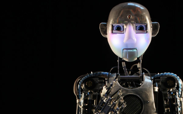 Full Size Humanoid Robot RoboThespian RT2 Entertainment Robot Studio - Engineered Arts