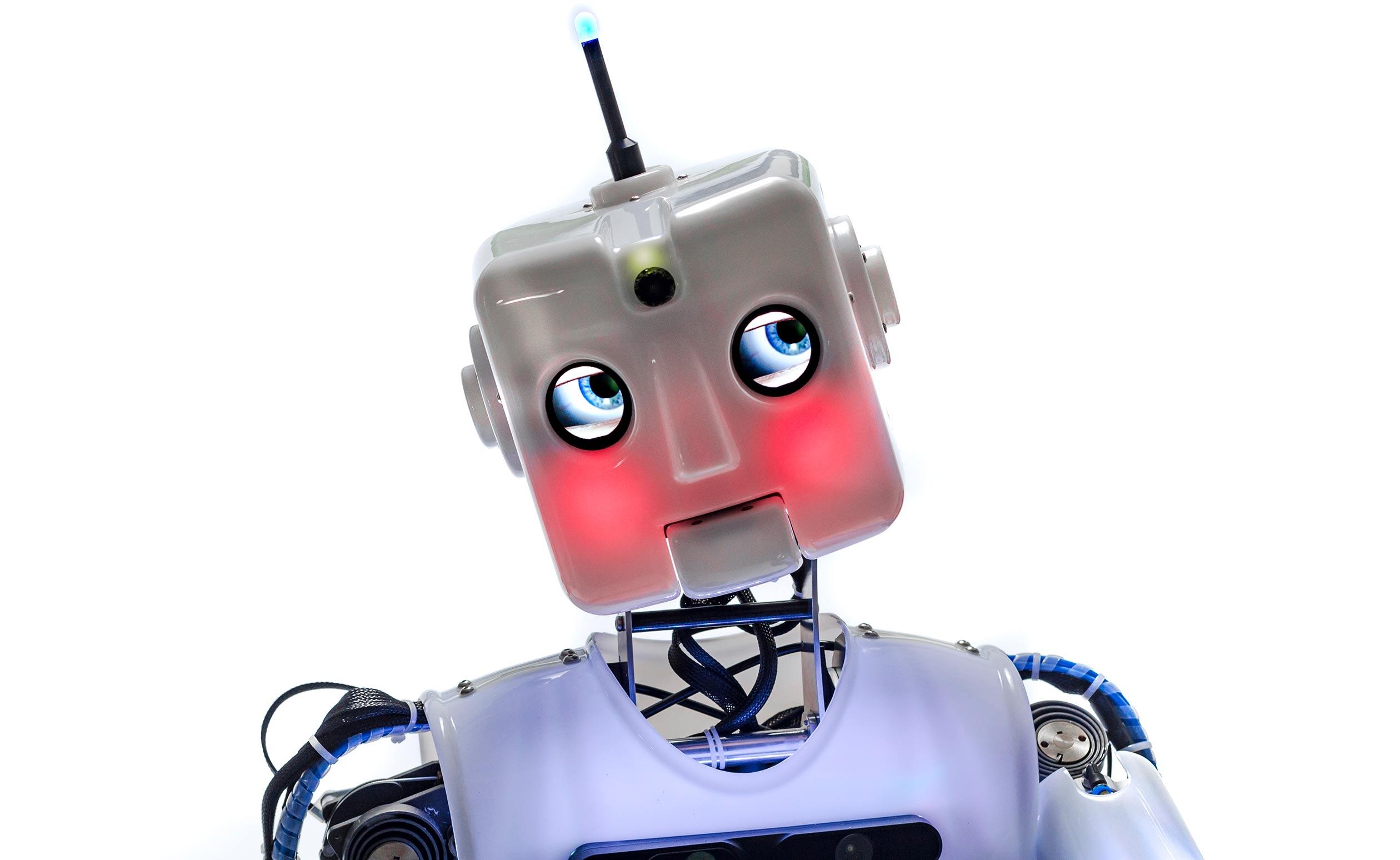 Custom RoboThespian RT 4 Full Size Humanoid Robot Engineered Arts MSI Chicago