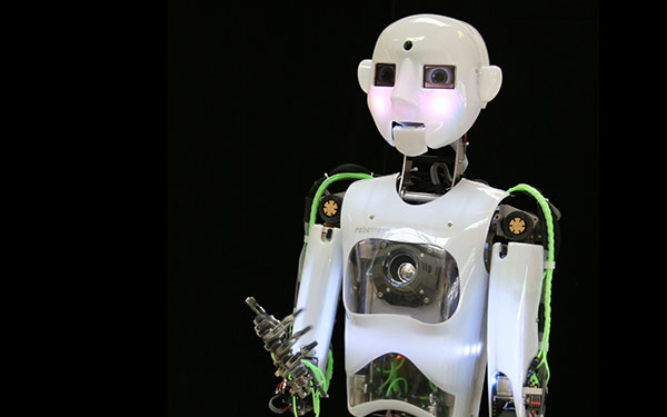 Full Size Humanoid Robot RoboThespian RT3 Entertainment Robot Studio - Engineered Arts