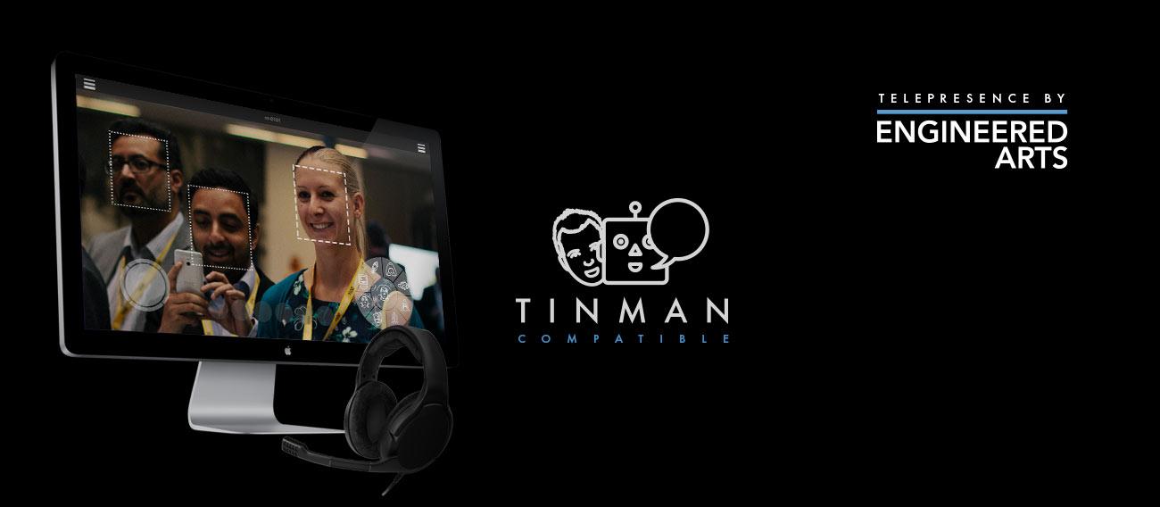 TinMan Telepresence Software for Humanoid Robots RoboThespian & SociBot
