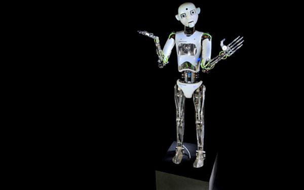 Full Size Humanoid Robot RoboThespian RT3 Entertainment Robot Studio - Engineered Arts