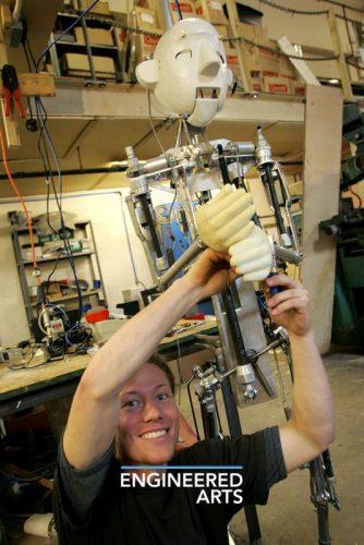 RoboThespian Mk 1 Full Size Humanoid Robot Engineered Arts