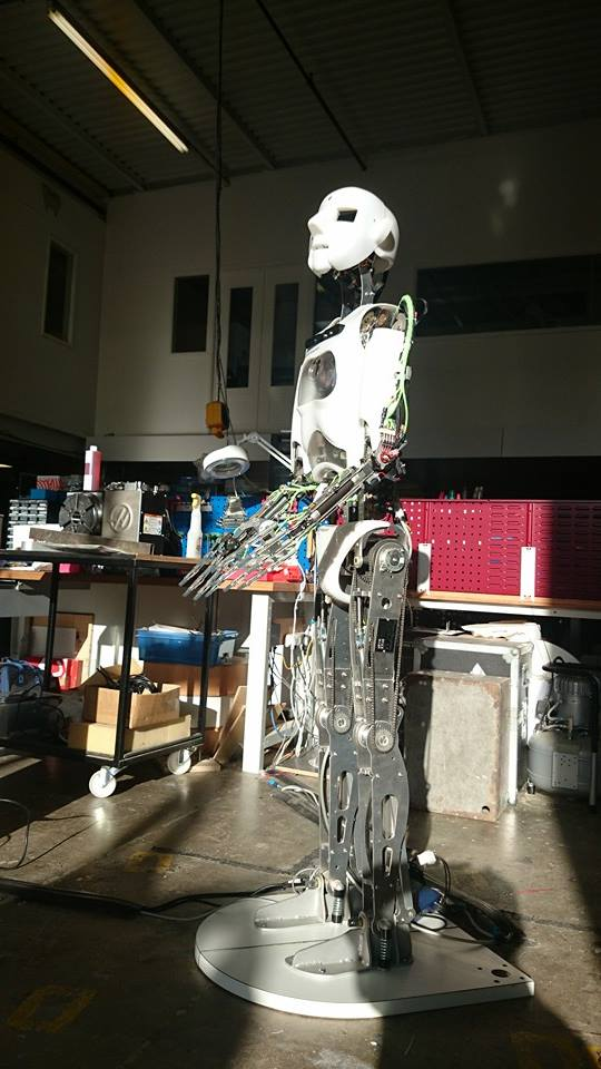 Engineered Arts Humanoid Robot Builder Takes Delivery Of