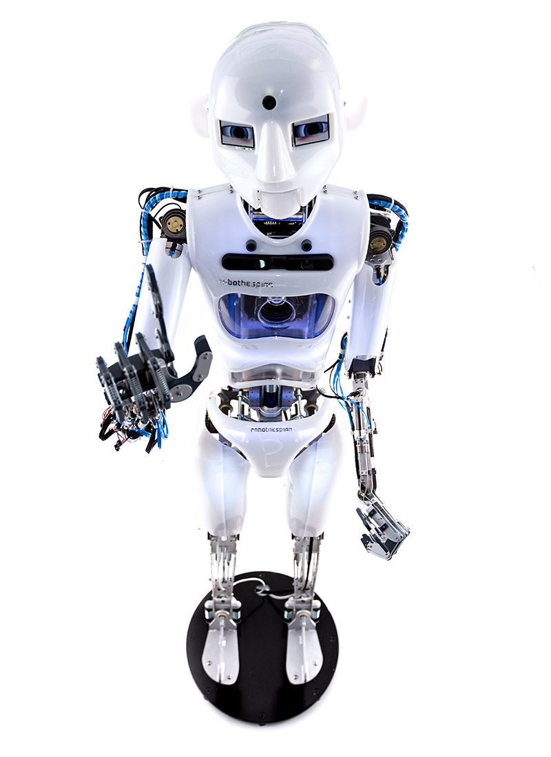 Humanoid Robot, RoboThespian at International Robot Exhibition - Engineered Arts