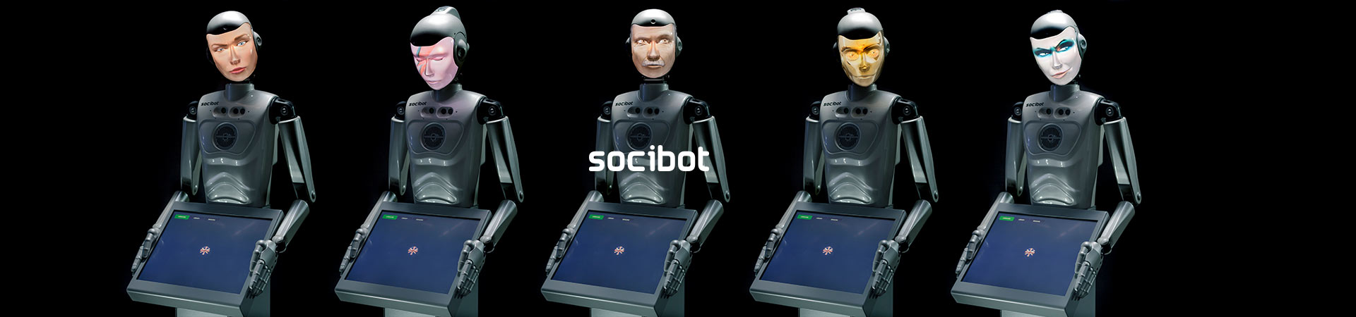 Semi Humanoid Robot 5 SociBots Engineered Arts