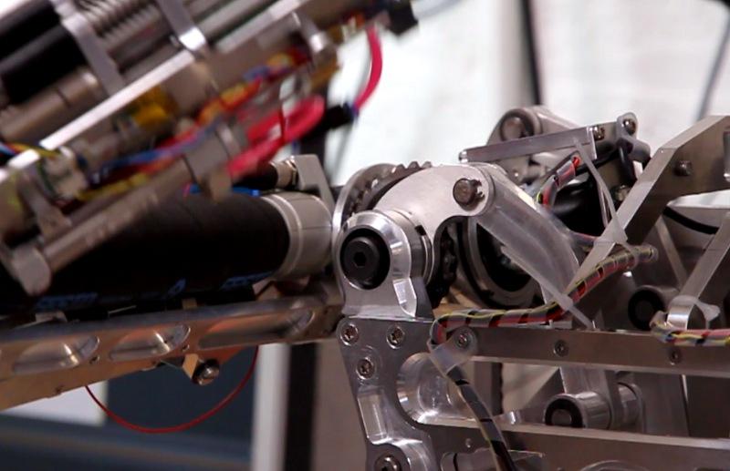 Robotic Development - Hardware, Air Muscle Pneumatic Actuation