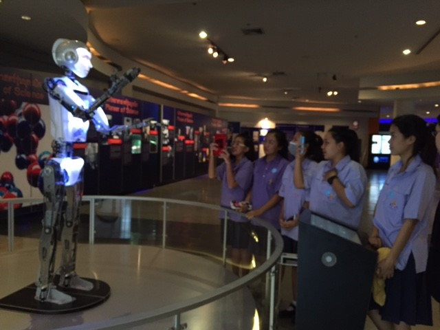RoboThespian entertains and trains staff at National Science Museum Thailand
