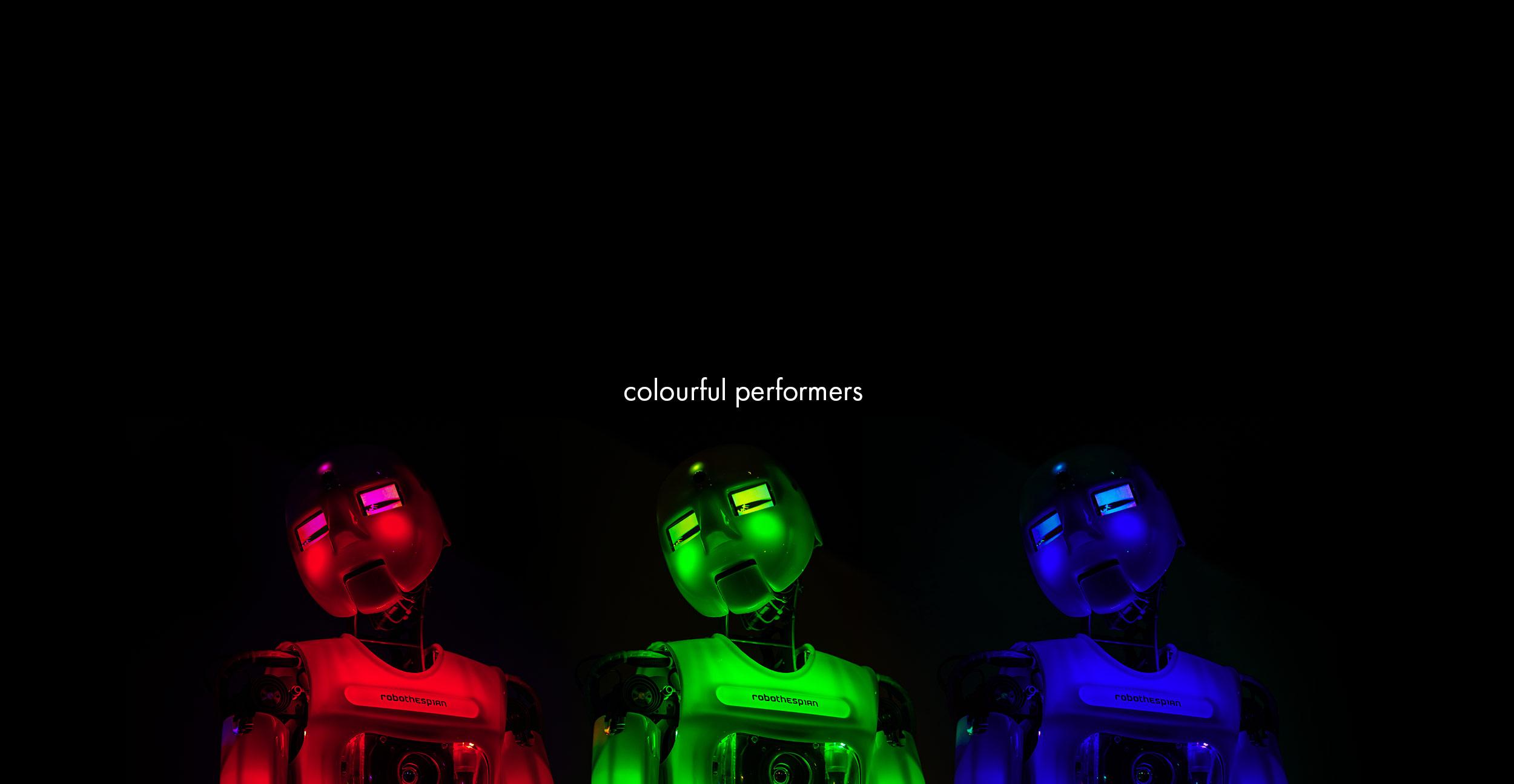 Robotic Theatre, RoboThespian RGB LEDs