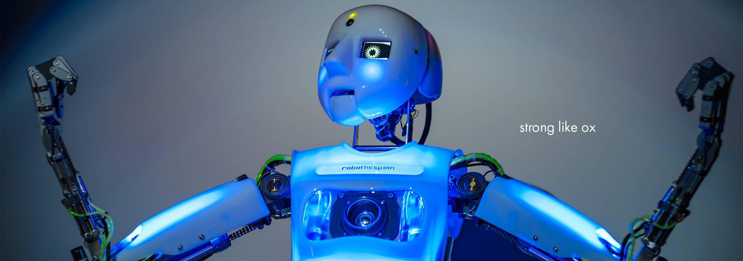 Robotic Theatre, RoboThespian Strong Like Ox